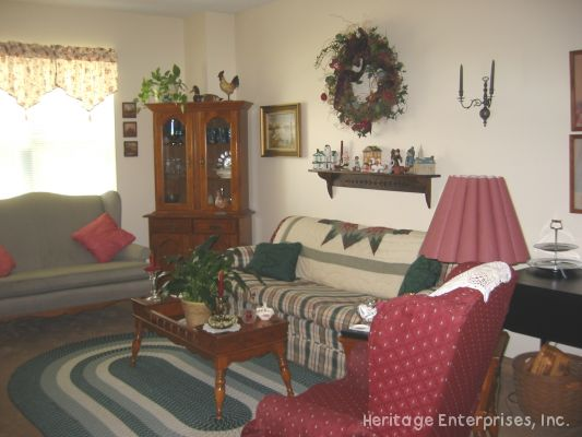 Sitting area | Evergreen Place - Alton, Illinois