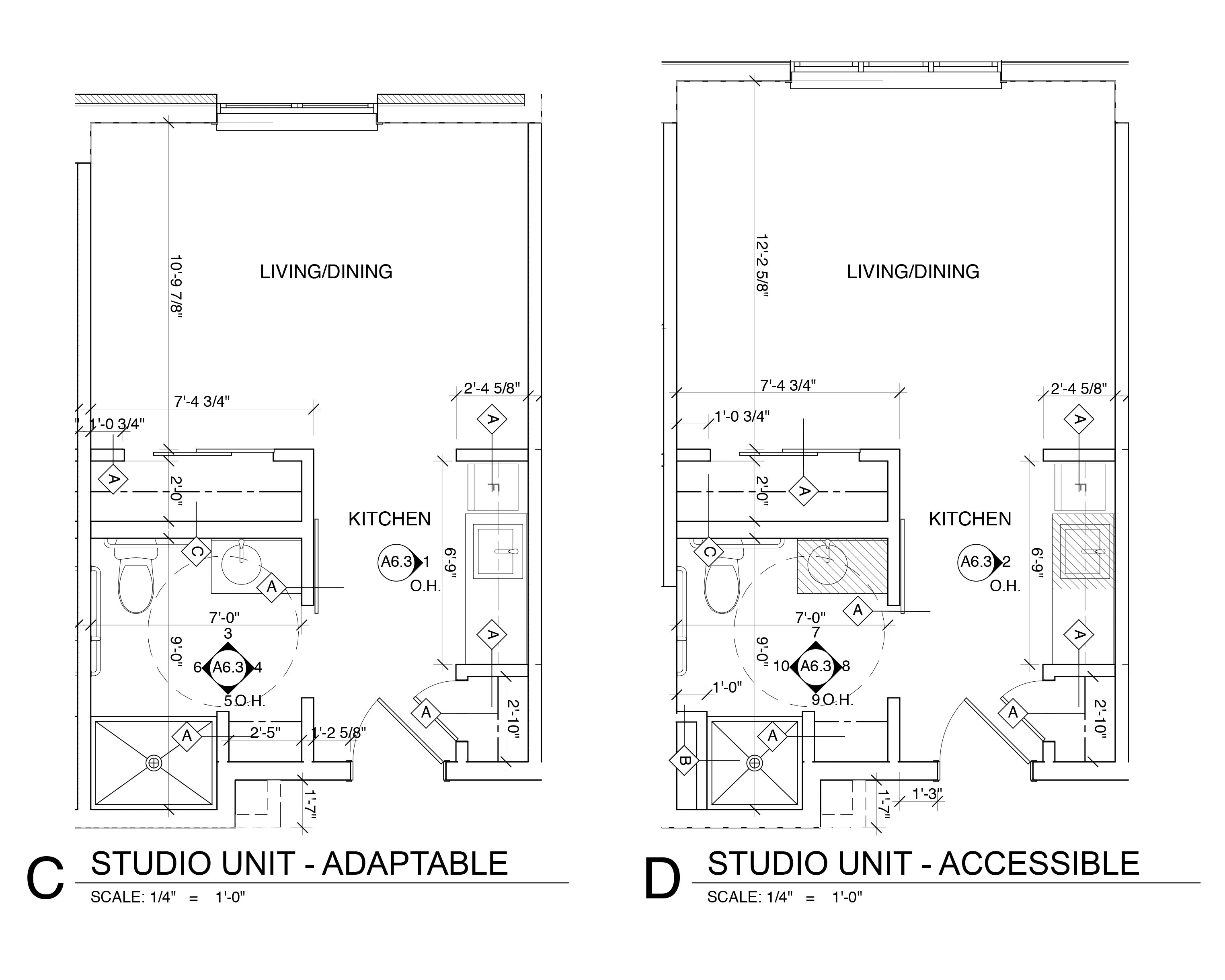 Studio Units - Adaptable & Accessible