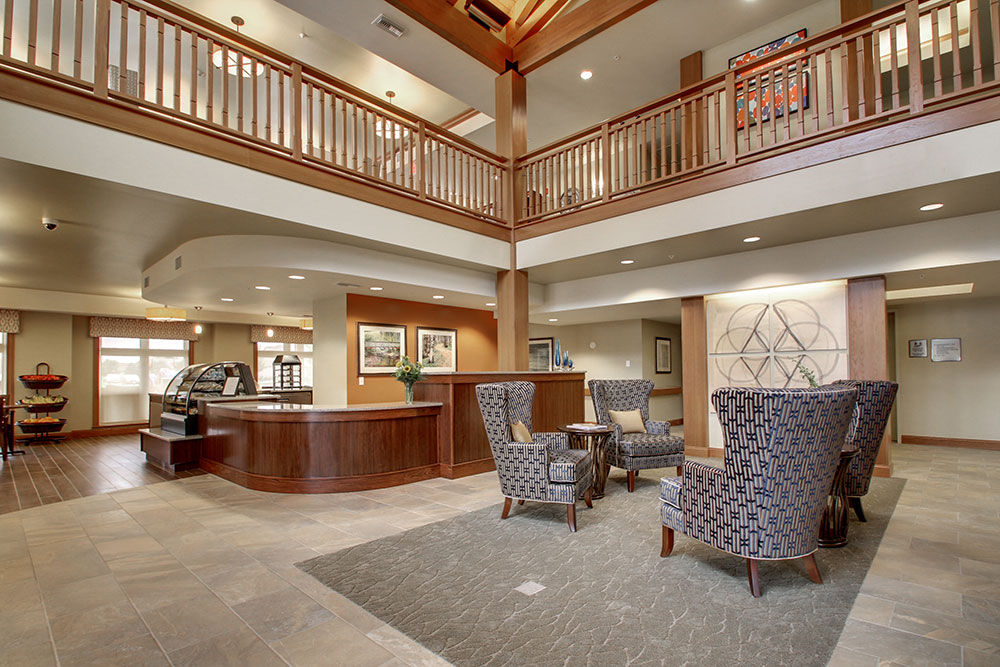 Entrance Interior | Evergreen Senior Living - Chillicothe, Illinois