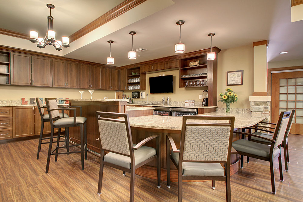 Kitchen | Evergreen Senior Living - Chillicothe, Illinois