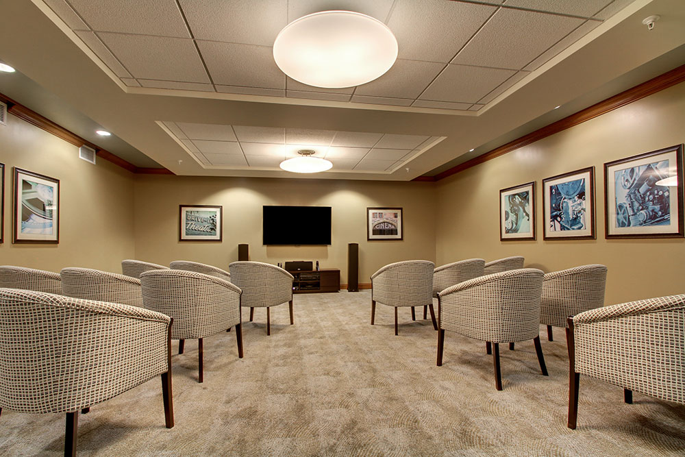 Video Room | Evergreen Senior Living - Chillicothe, Illinois