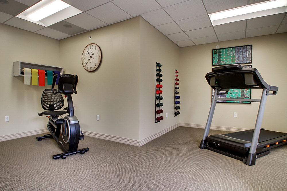 Workout Room | Evergreen Senior Living - Chillicothe, Illinois