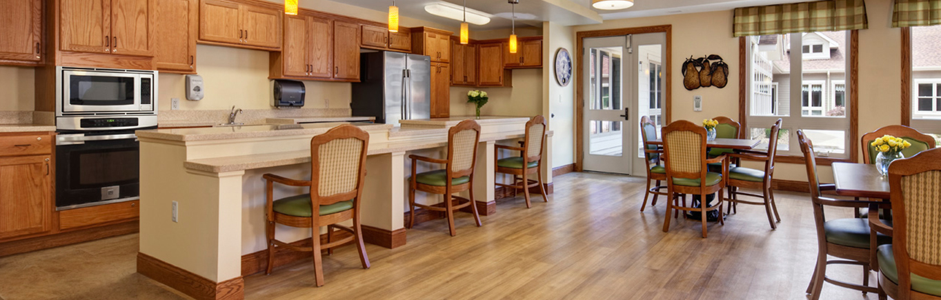 Dining Area | Decatur, Illinois | Evergreen Senior Living