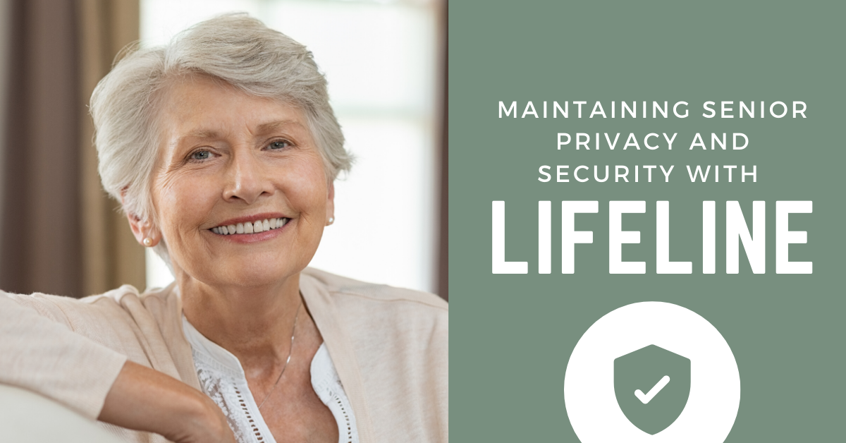 Maintaining Senior Privacy and Security with Lifeline Blog Banner