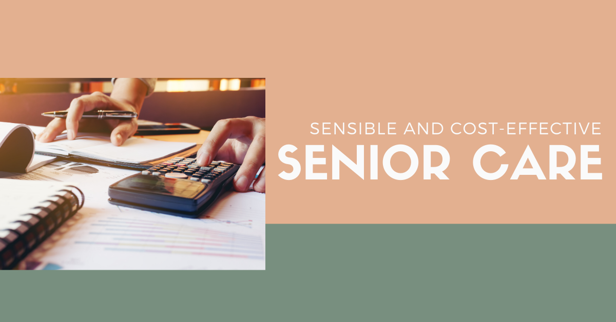 Sensible and Cost-Effective Senior Care Blog Banner