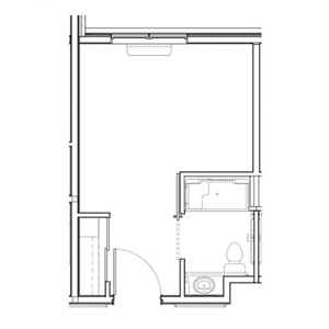 Indianapolis, Indiana | Private Short Term Rehab Floor Plan