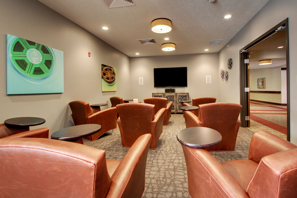 Movie Room | Evergreen Crossing - Indianapolis, Indiana