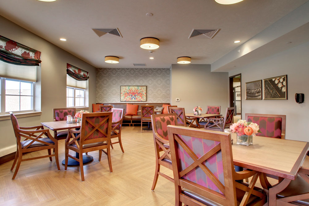 The Frill Dining Area | Evergreen Crossing - Indianapolis, Indiana