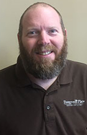 Byron Sharp, Building Services Coordinator