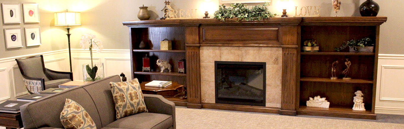 Fire Place | Normal, Illinois | Evergreen Place Assisted Living