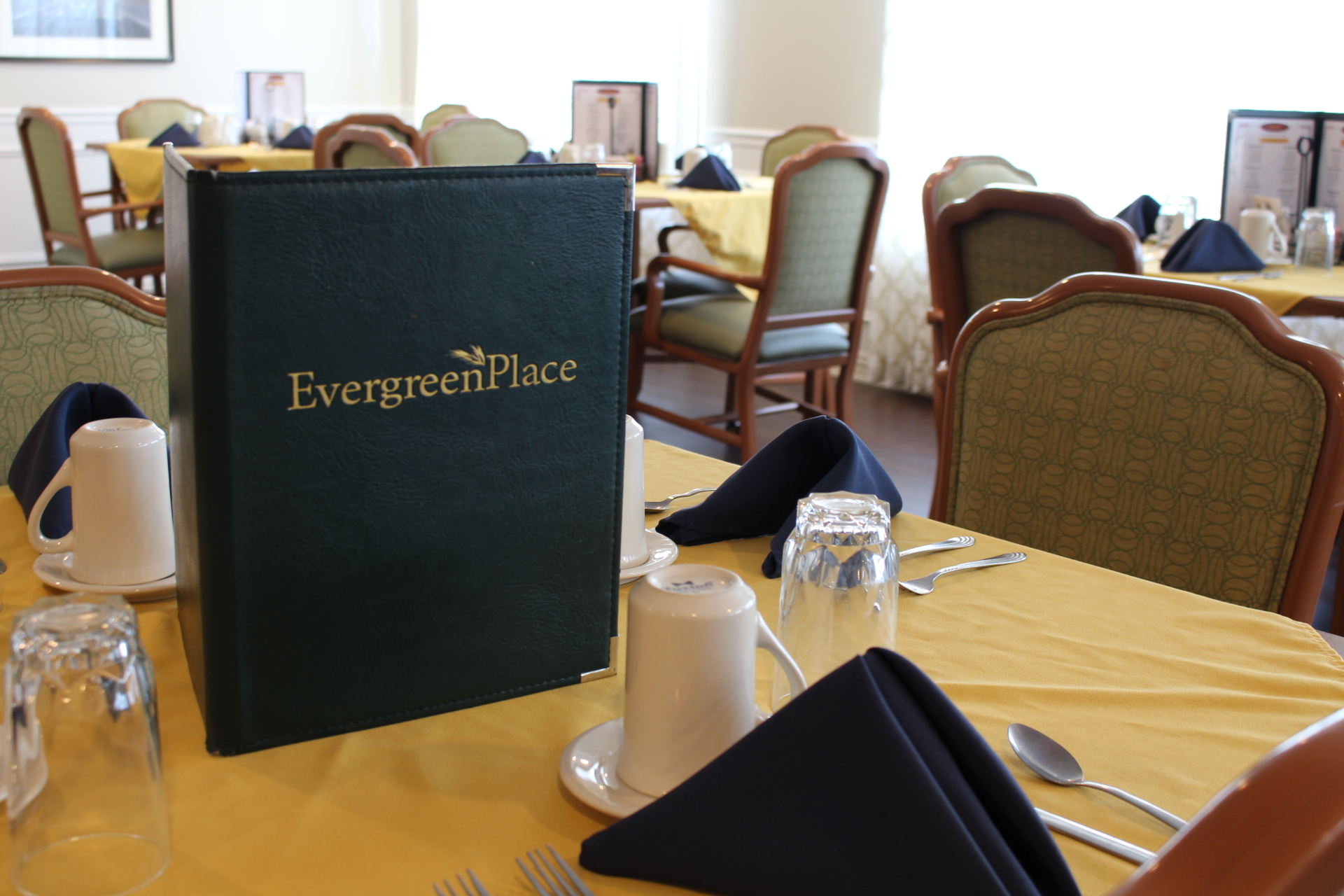 Dining Menu | Evergreen Place - Normal, Illinois