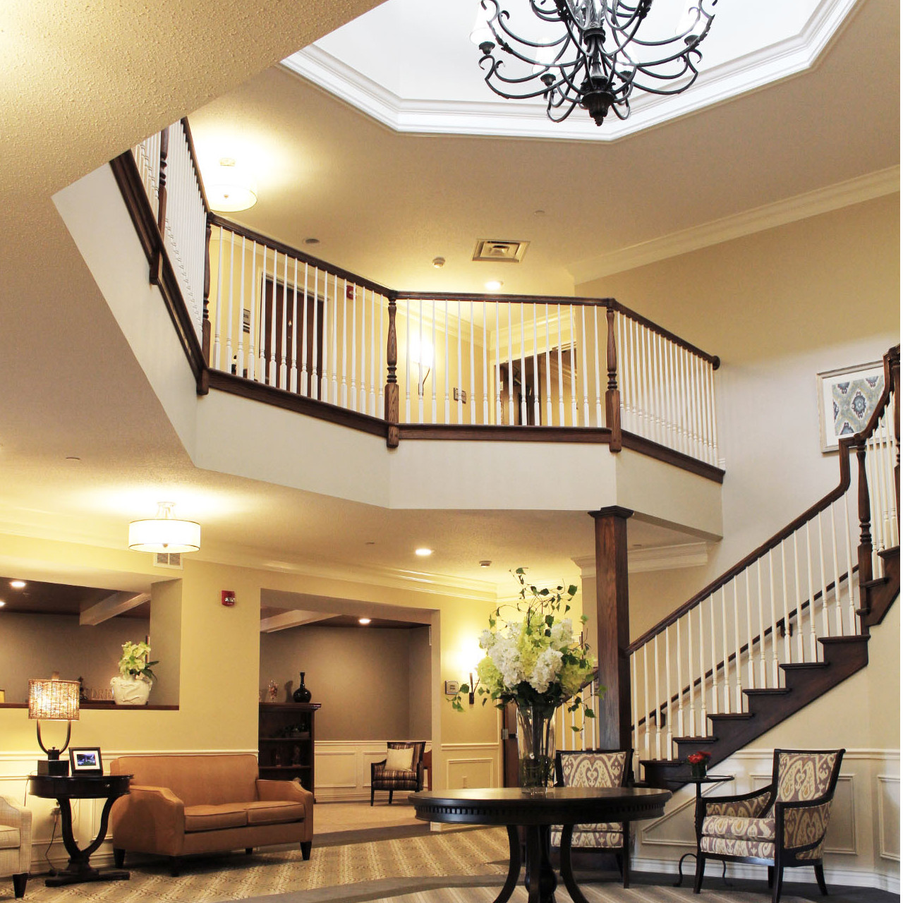 Grand Staircase | Evergreen Place - Normal, Illinois