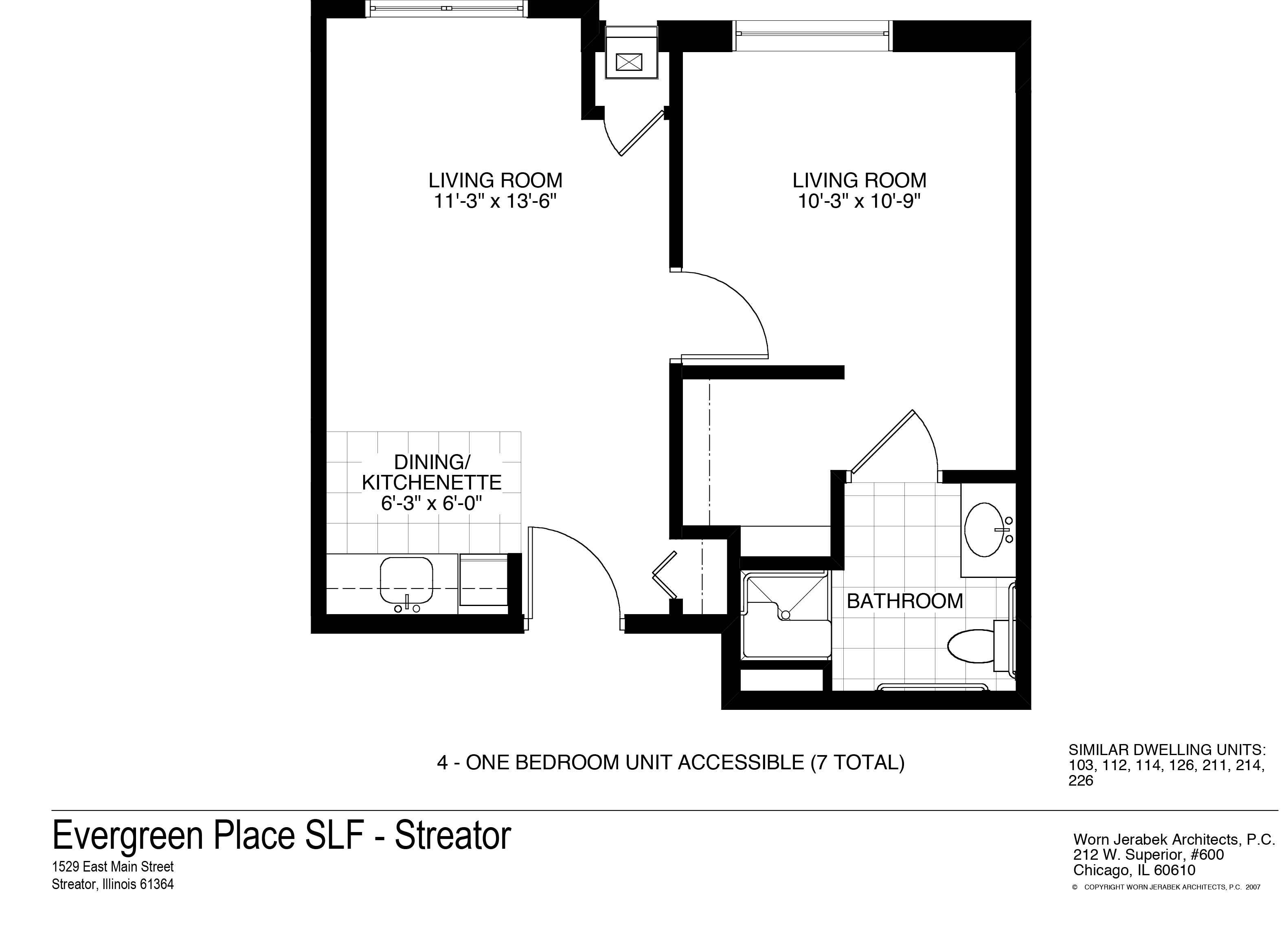 One Bedroom | Accessible