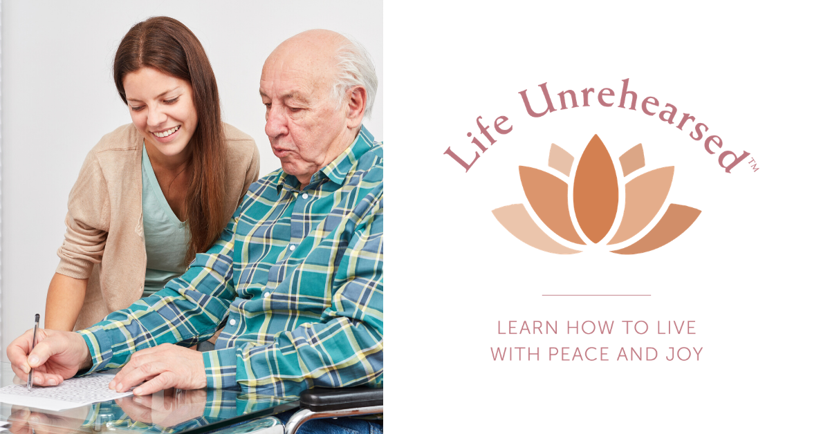 Life Unrehearsed Blog Banner